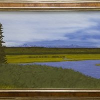 20-19-FRAMED-THE-HENRYS-FORK-AND-CENTENNIALS-17x36-Oil-on-Canvas-2700