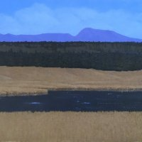 21-34-THE-RIVER-AND-SAWTELL-24-x-30-Oil-on-Canvas-Signed-LL-3000